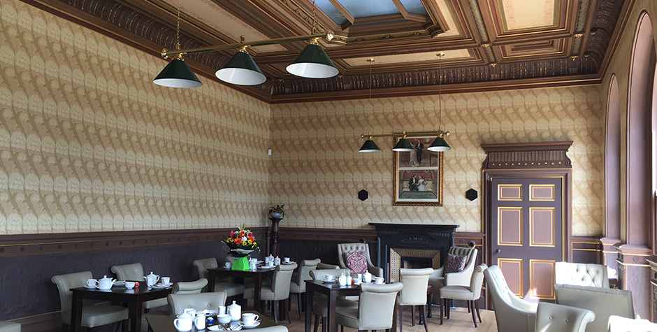 Delapré Abbey – Billiard Room now open within the Café