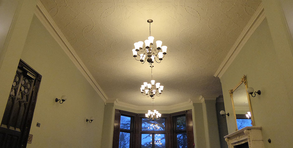 Insole Court, Cardiff: Ceiling Stabilisation